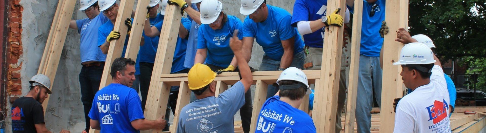 Habitat for Humanity Camden County NJ - Volunteer Day